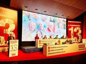 Toledo retoma el pulso como ciudad de convecciones y acoge el XIII Congreso Estatal de la Federación de Pensionistas de CCOO