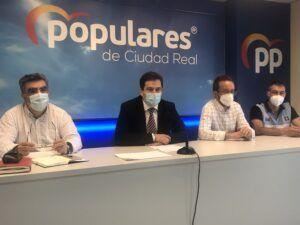 """Valverde dice alto y claro, """"no a los recortes de Page a la sanidad pública en Ciudad Real que se llevan produciendo desde que es presidente de Castilla-La Mancha"""""""