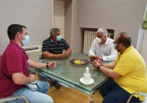 Vega recibe al alcalde en funciones de Atanzón y garantiza el apoyo de Diputación para seguir cumpliendo proyectos en el municipio