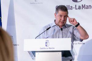"""García-Page aboga por """"ponderar las decisiones"""" sobre posibles restricciones con """"coherencia"""" y atendiendo a la evolución de cada territorio"""