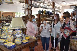 El Gobierno de Talavera apuesta por el sector cerámico y los talleres artesanos de la mano de la celebración de las Santas Alfareras
