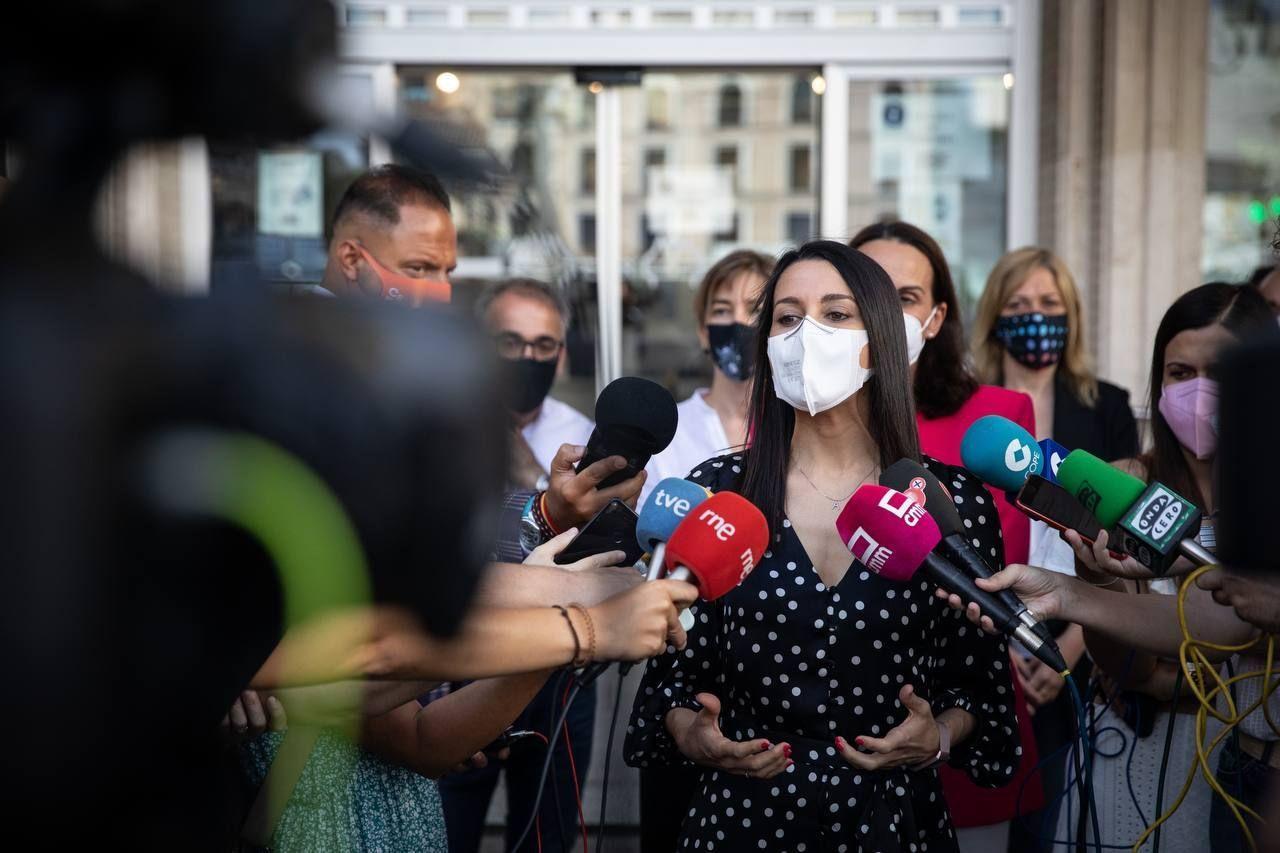 Arrimadas destaca en Ciudad Real las tres claves de Ciudadanos en gobierno: buena gestión, sentido común y bajada de impuestos