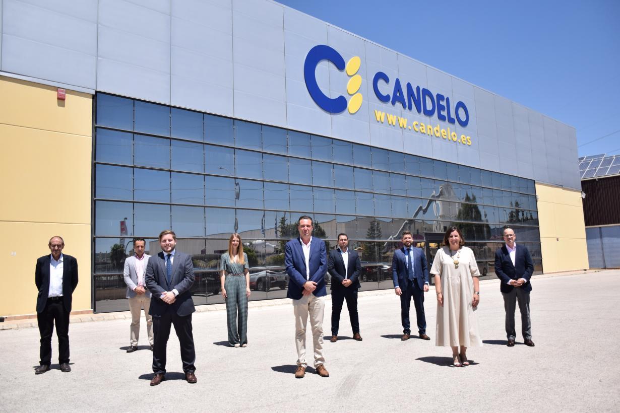 El Gobierno regional tendrá listo el estudio de viabilidad del Puerto Seco de Albacete en 12 semanas con el grupo agroalimentario 'Candelo' como empresa tractora