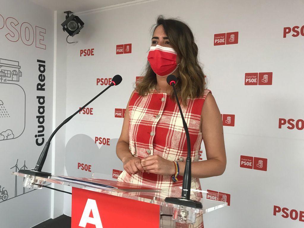 """Cristina López: """"Con el PSOE, Ciudad Real es prioridad para Europa y para España"""""""