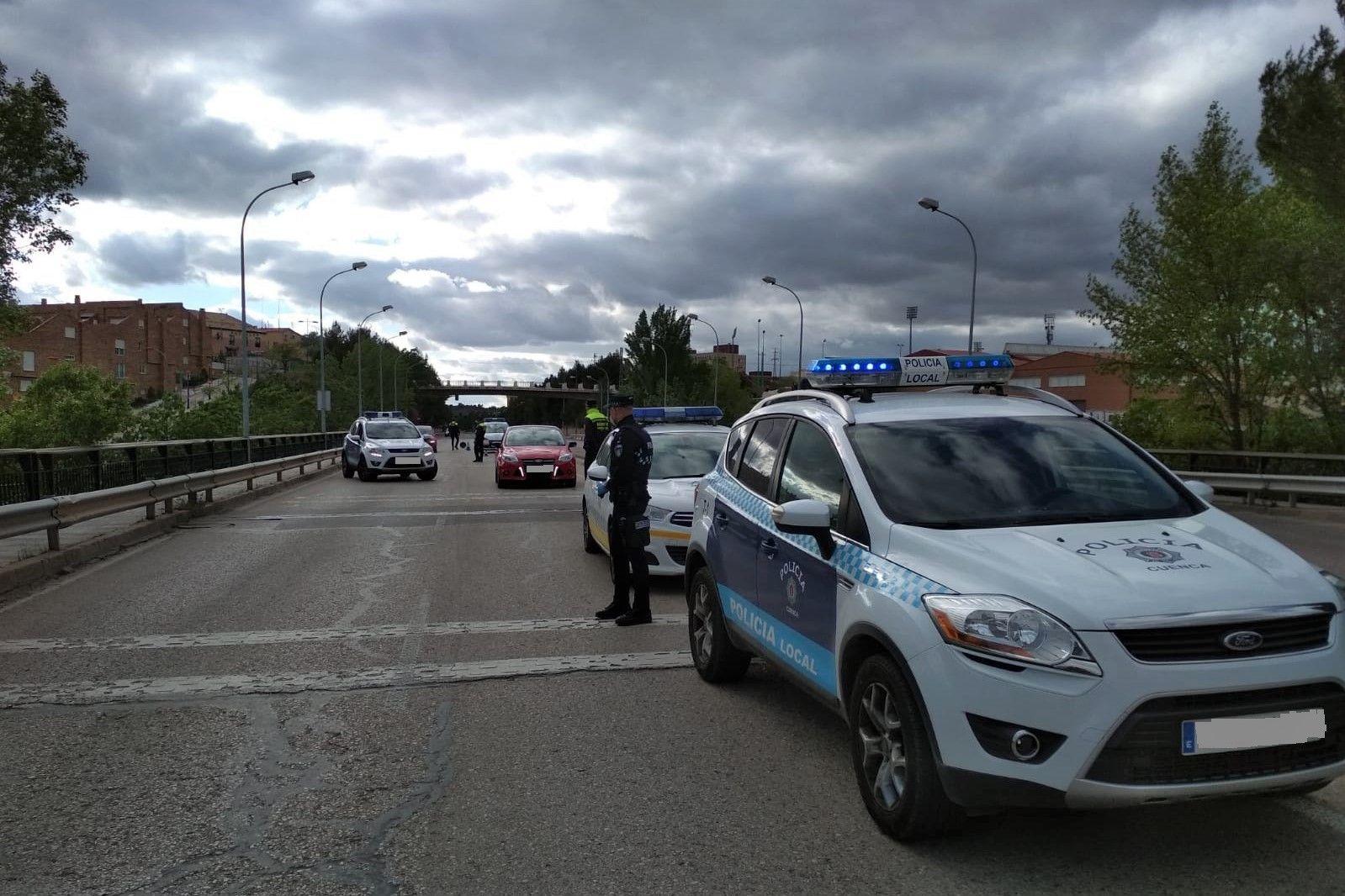 Policía Local disuelve varios conatos de botellón en intervenciones conjuntas con Policía Nacional