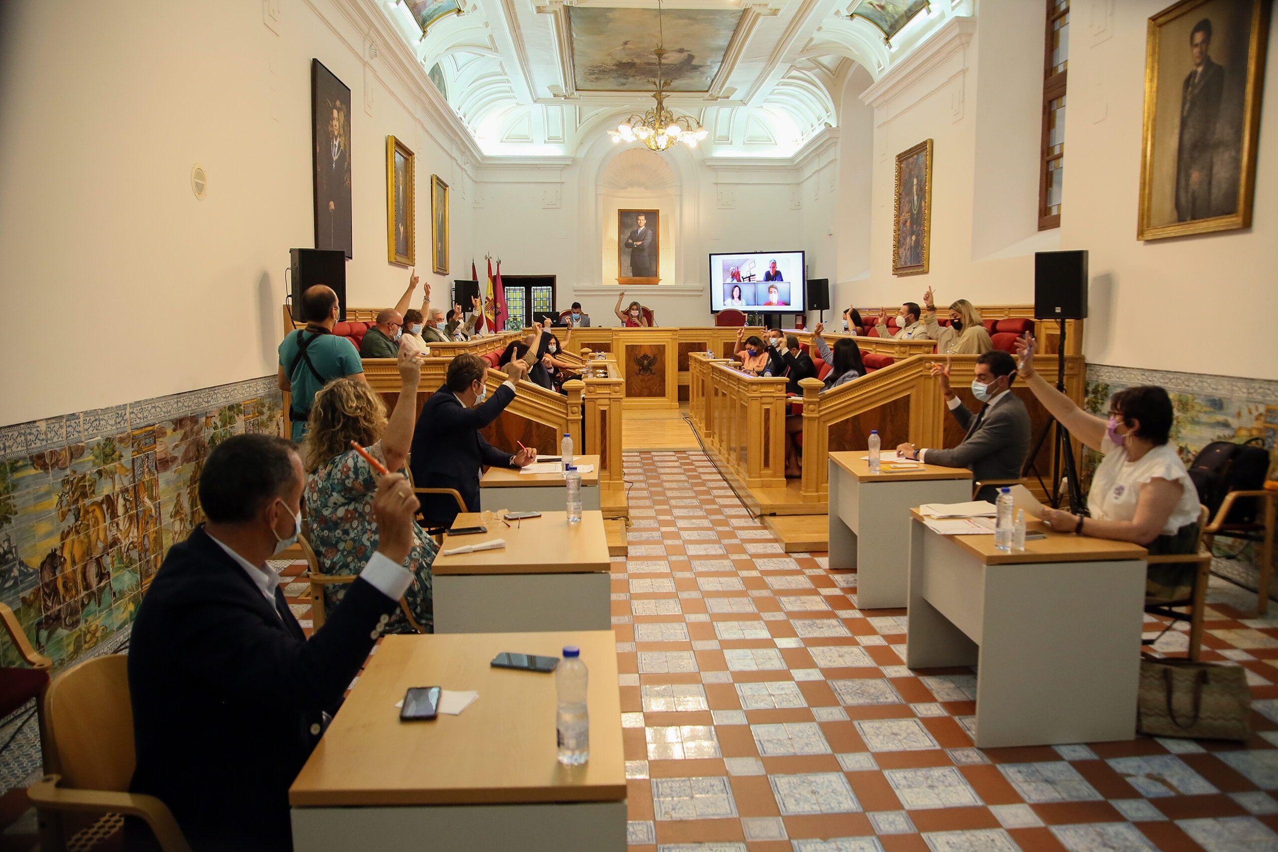 El Debate del Estado de la Ciudad se cierra con 43 propuestas aprobadas, nueve por unanimidad, para mejorar Toledo