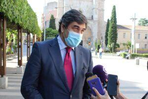"""Echániz afirma que el proyecto del PP de Casado """"está en el mejor momento"""" y apunta que """"es la única alternativa seria y responsable de Gobierno en España"""""""