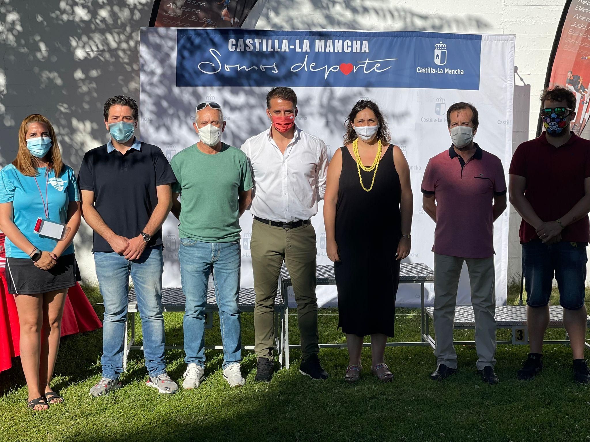 El Gobierno regional felicita a los nadadores de Castilla-La Mancha por su participación en el campeonato de natación celebrado en Puertollano