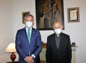 Eurocaja Rural visita al Cardenal Arzobispo de Valladolid