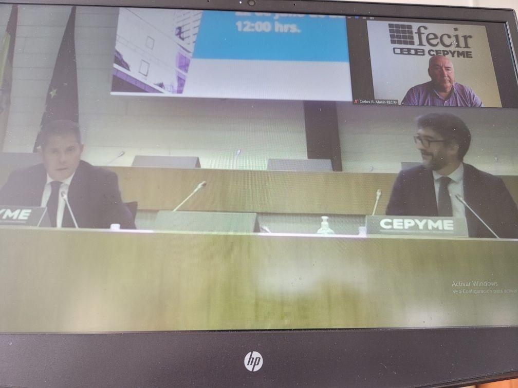 Carlos Marín, presidente de FECIR, presente en la Asamblea General de CEPYME, aboga por la unidad empresarial