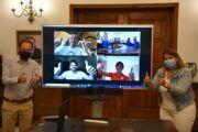 Tita García Élez traslada el apoyo y el cariño de toda Talavera a los tres olímpicos que representan a la ciudad y al país en Tokio
