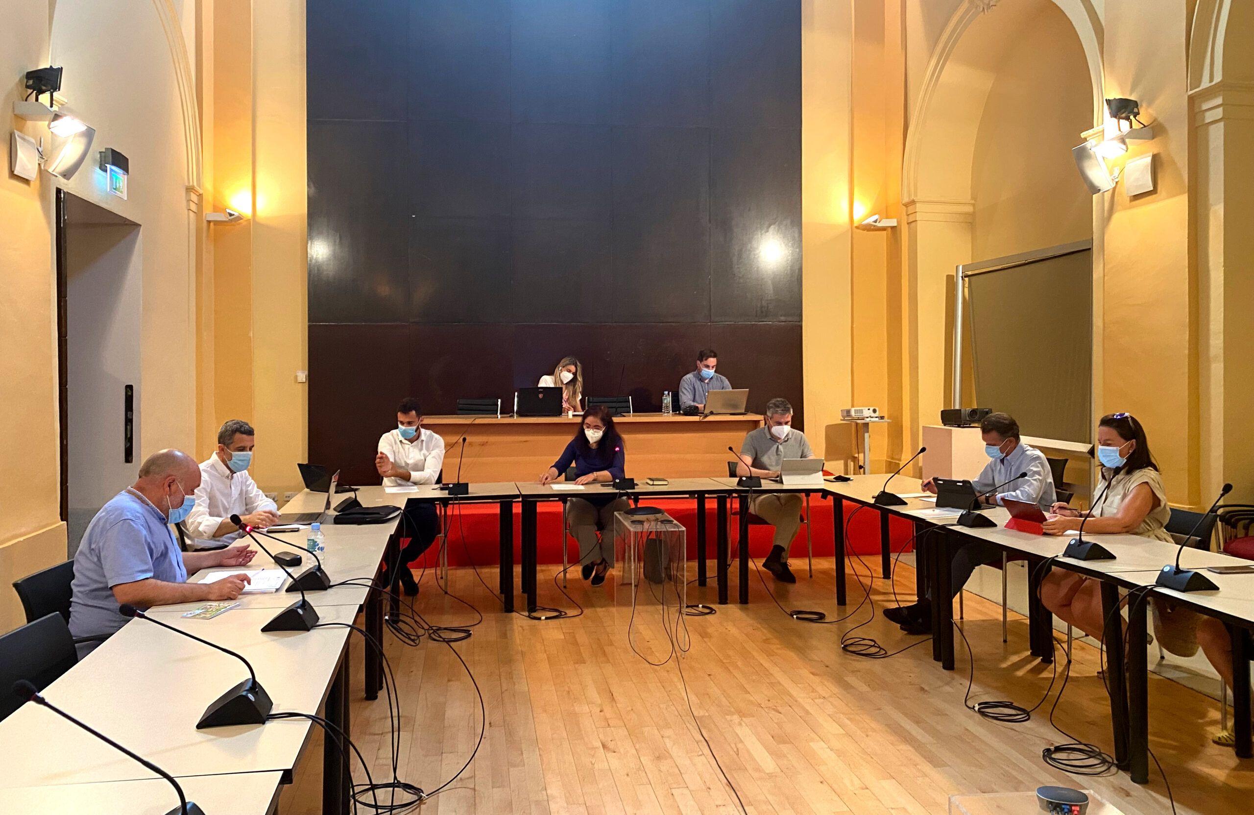 La Comisión de Hacienda da el visto bueno al último trámite administrativo para desarrollar los Presupuestos Participativos