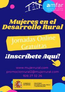 """AMFAR impartirá 50 Jornadas sobre el papel de las """"Mujeres en el Desarrollo Rural"""""""