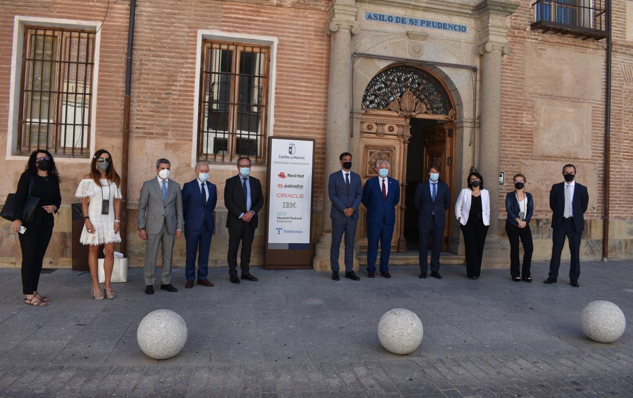 El Gobierno autonómico y la multinacional HPE colaborarán para incorporar nuevos proyectos en el Centro Regional de Innovación Digital