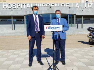 Moreno denuncia la inoperancia de Page que se traduce en datos preocupantes en las listas de espera quirúrgica de Cuenca