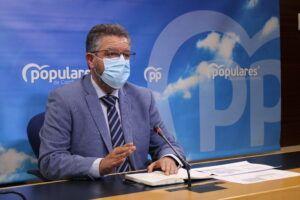 Moreno critica el triunfalismo de Page cuando en Castilla-La Mancha aún queda el 46% de la población por vacunar en pauta completa