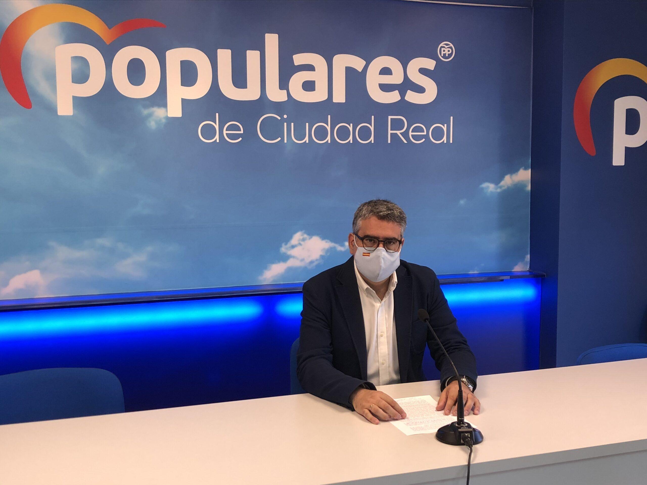 """Rodríguez: """" Page tiene que dar muchas explicaciones a los castellano-manchegos de por qué dio subvenciones a la empresa del ex presidente de las Cortes de Castilla-La Mancha """""""