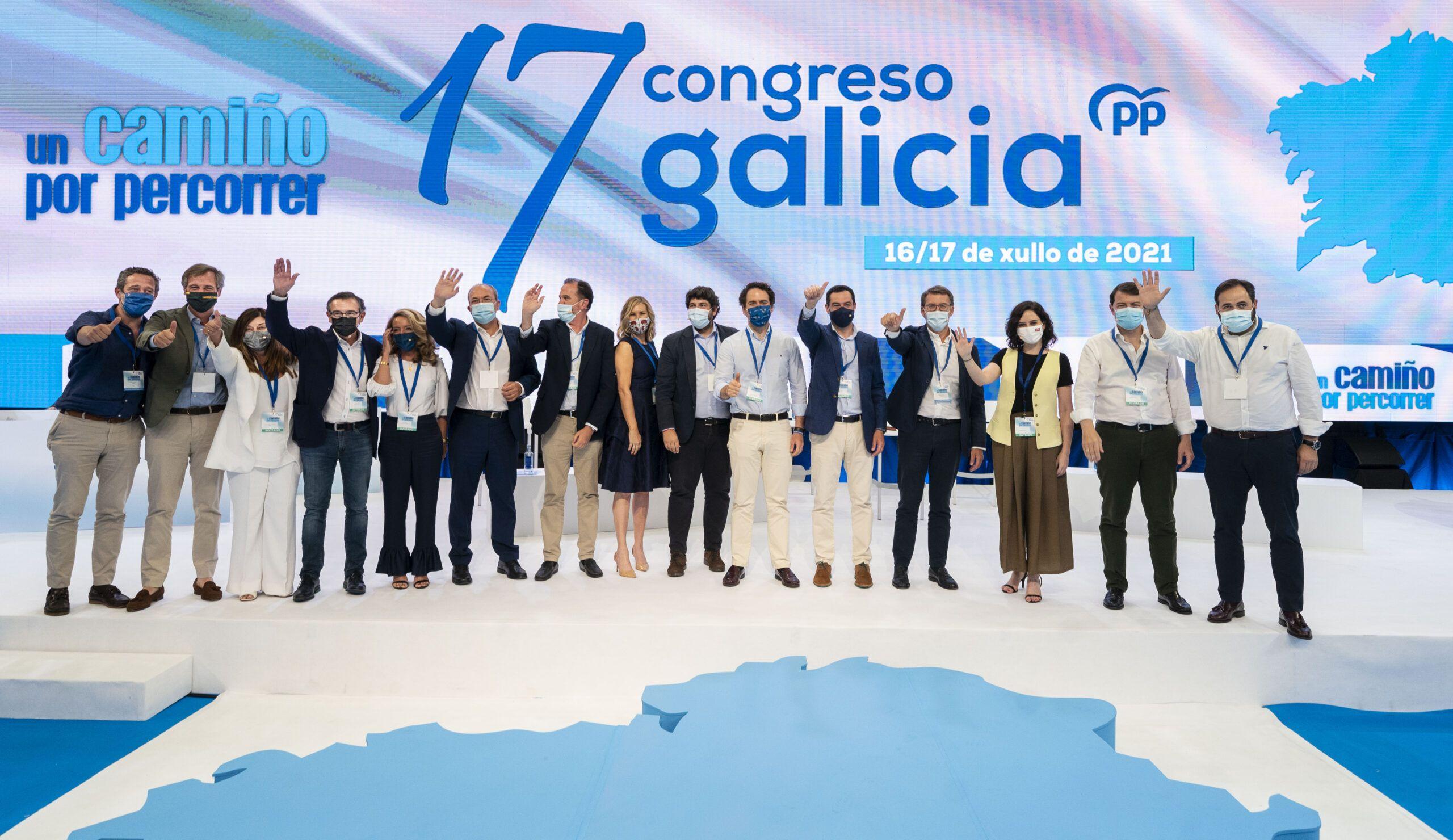 """Núñez: """"España hoy tiene la imperiosa necesidad de contar con gobiernos del Partido Popular como el de Feijóo en Galicia"""