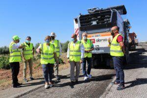 El Gobierno de Castilla-La Mancha invierte más de 800.000 euros en la mejora de la CM-4120 entre Villarrubia de los Ojos y Puerto Lápice