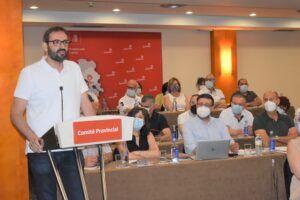 """Gutiérrez apunta la caída de Núñez en la """"espiral del perdedor"""" y reivindica al PSOE como """"el partido del progreso, el regionalismo y la honradez frente a los recortes"""""""