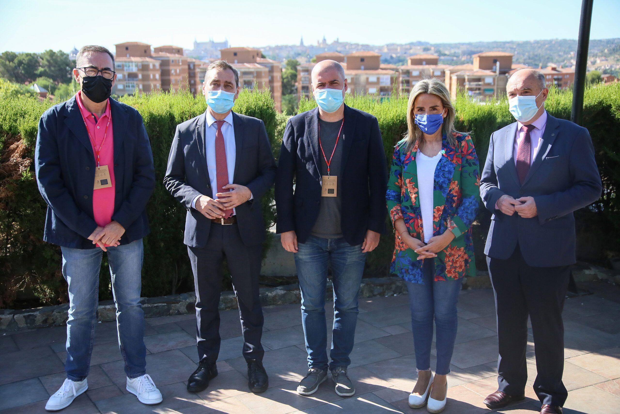 La alcaldesa apoya el Congreso Nacional de la Federación de Servicios a la Ciudadanía organizado en Toledo por CCOO