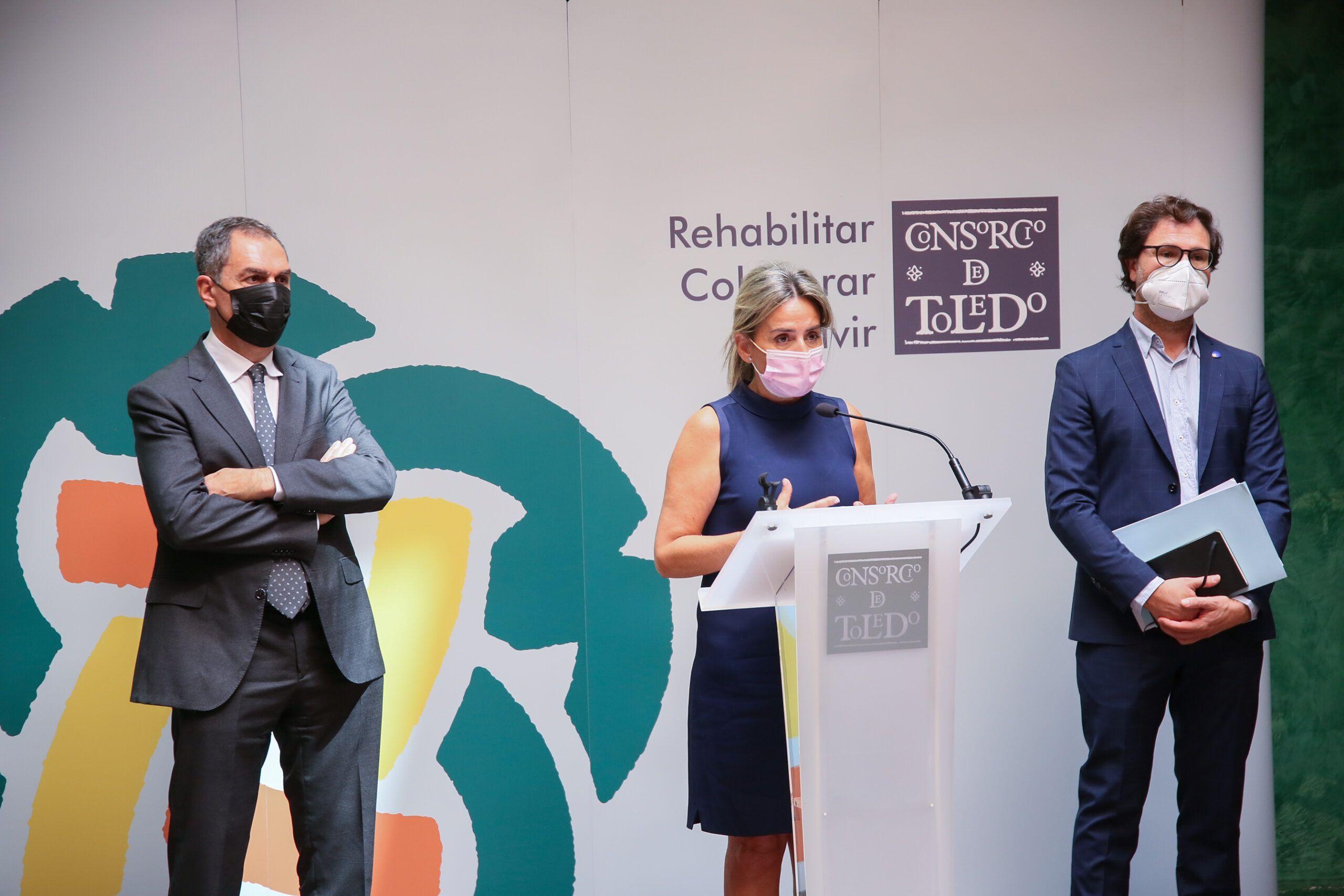 La alcaldesa avanza que el Consorcio va a reforzar la convocatoria de ayudas a la rehabilitación para fijar y atraer población en el Casco