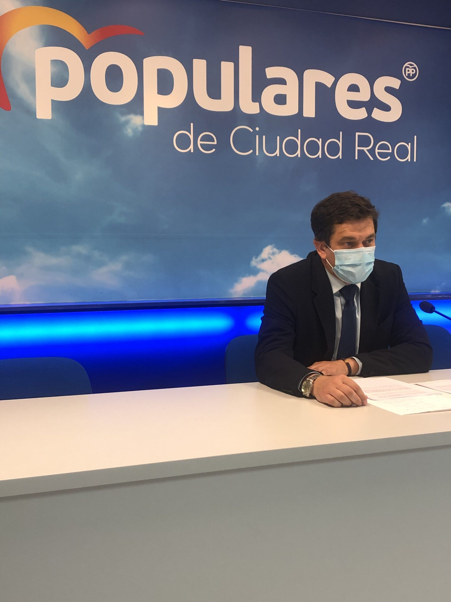 """Valverde : """" La rebaja fiscal que propone Paco Núñez garantizaría la supervivencia de más de 51.300 pequeños comercios de Castilla-La Mancha"""""""