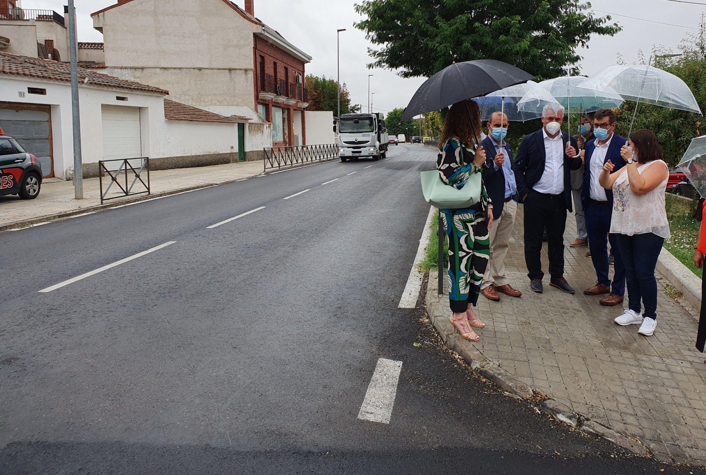 La Diputación invierte 428.000 € en arreglar las carreteras que unen Villanueva de la Torre y Torrejón del Rey con la Comunidad de Madrid