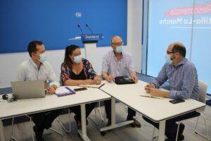 Velázquez reclama a la Junta servicios básicos sanitarios y de transporte en los pueblos de la provincia