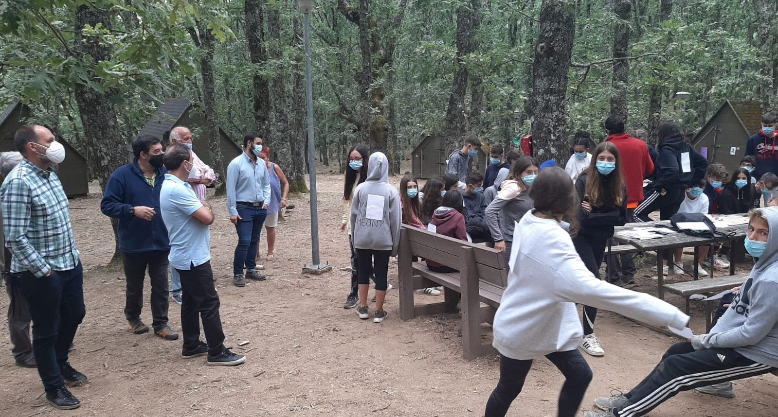 """El Gobierno regional retoma las actividades de """"Ocio y Tiempo Libre"""" en el campamento de 'El Piélago´ cumpliendo los protocolos sanitarios"""