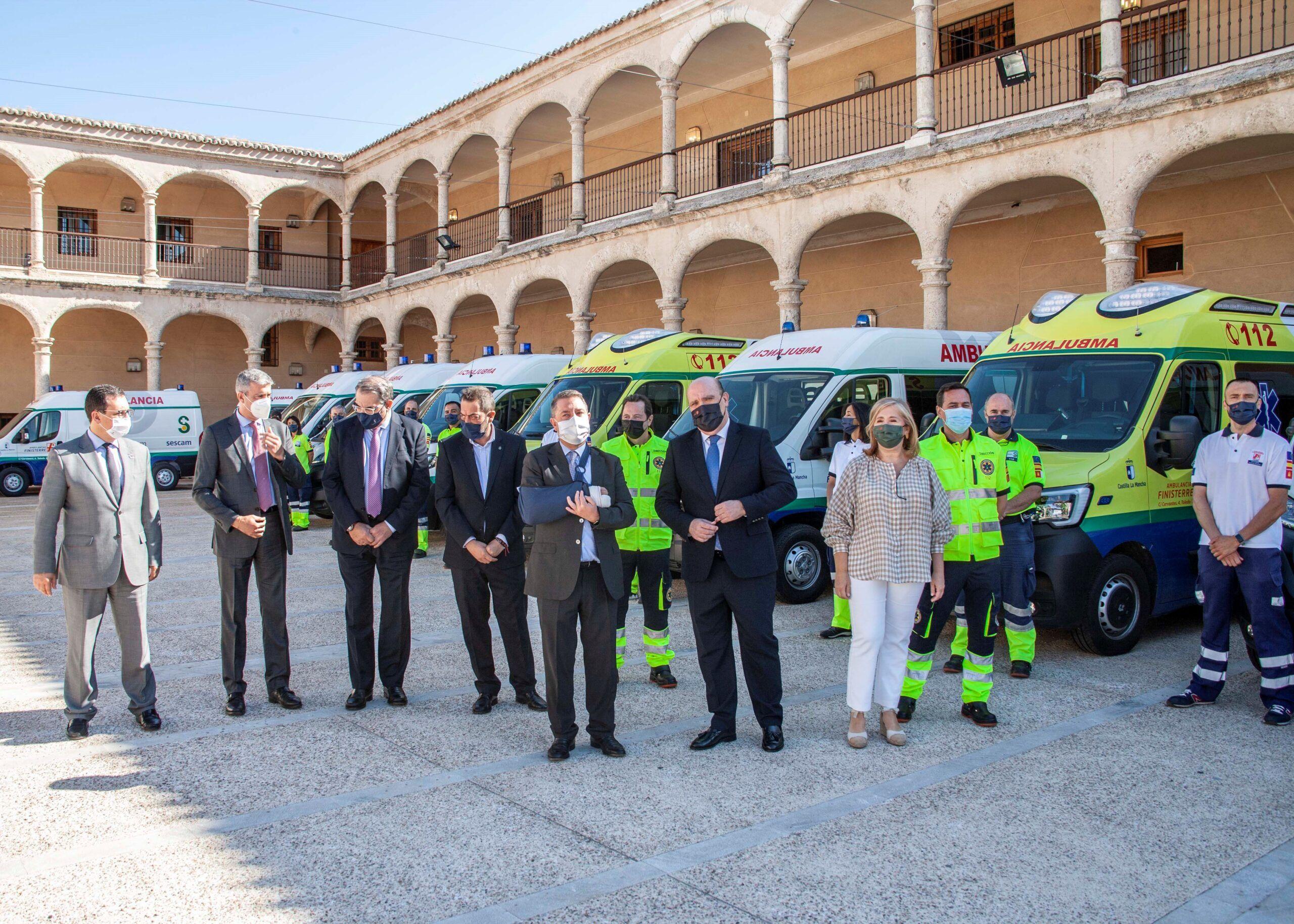 Ambulancias Finisterre continúa con el proceso de renovación de su parque móvil con la incorporación de 13 nuevas ambulancias