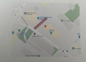 El lunes, 30 agosto, comienzan las obras del camino escolar seguro de acceso al colegio público Balconcillo