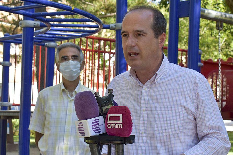 El Ayuntamiento de Guadalajara invierte medio millón de euros en Iriépal, Taracena, Usanos y Valdenoches