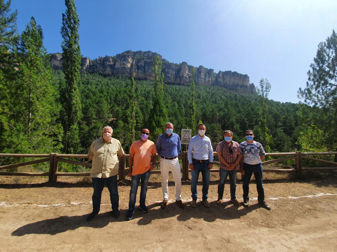 El Gobierno de Castilla-La Mancha prosigue con sus actuaciones de mejora de servicios e infraestructuras en el Parque Natural del Alto Tajo