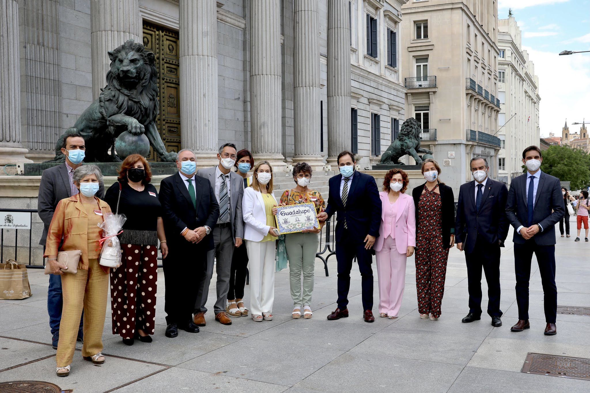 El PP insiste en que el Gobierno de Sánchez elabore un Plan Estratégico de Desarrollo de los Caminos a Guadalupe
