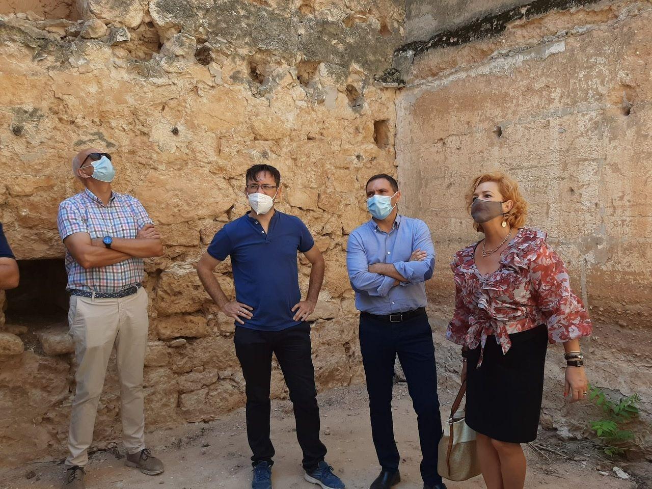 La Diputación de Cuenca culmina la rehabilitación del castillo de Santiago de la Torre con una inversión de 200.000 euros