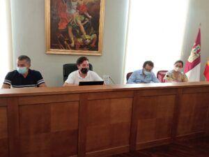 El subdelegado del Gobierno en Albacete asiste en Caudete a la Junta Local de Seguridad