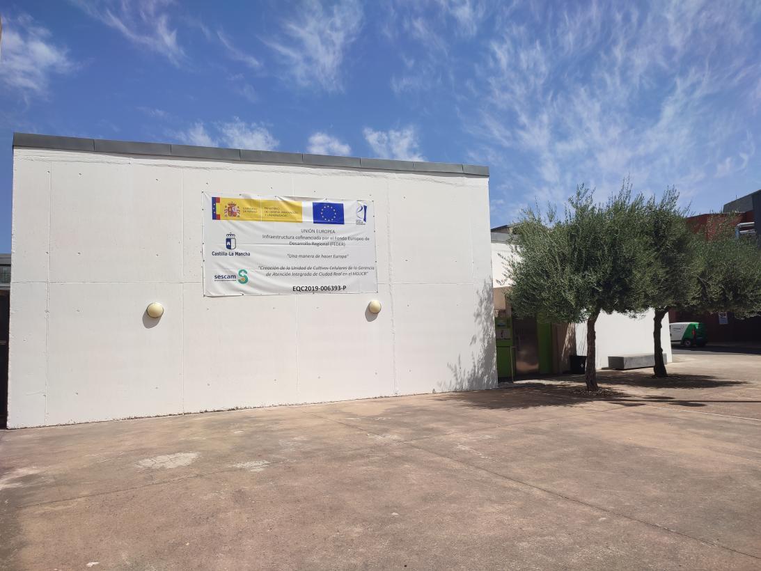 El Gobierno de Castilla-La Mancha inicia las obras de la Unidad de Cultivos Celulares del Hospital General Universitario de Ciudad Real