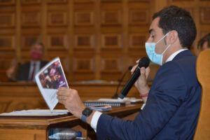 Comendador propone a la Diputación la creación de una red de áreas de servicio para autocaravanas en la provincia de Toledo