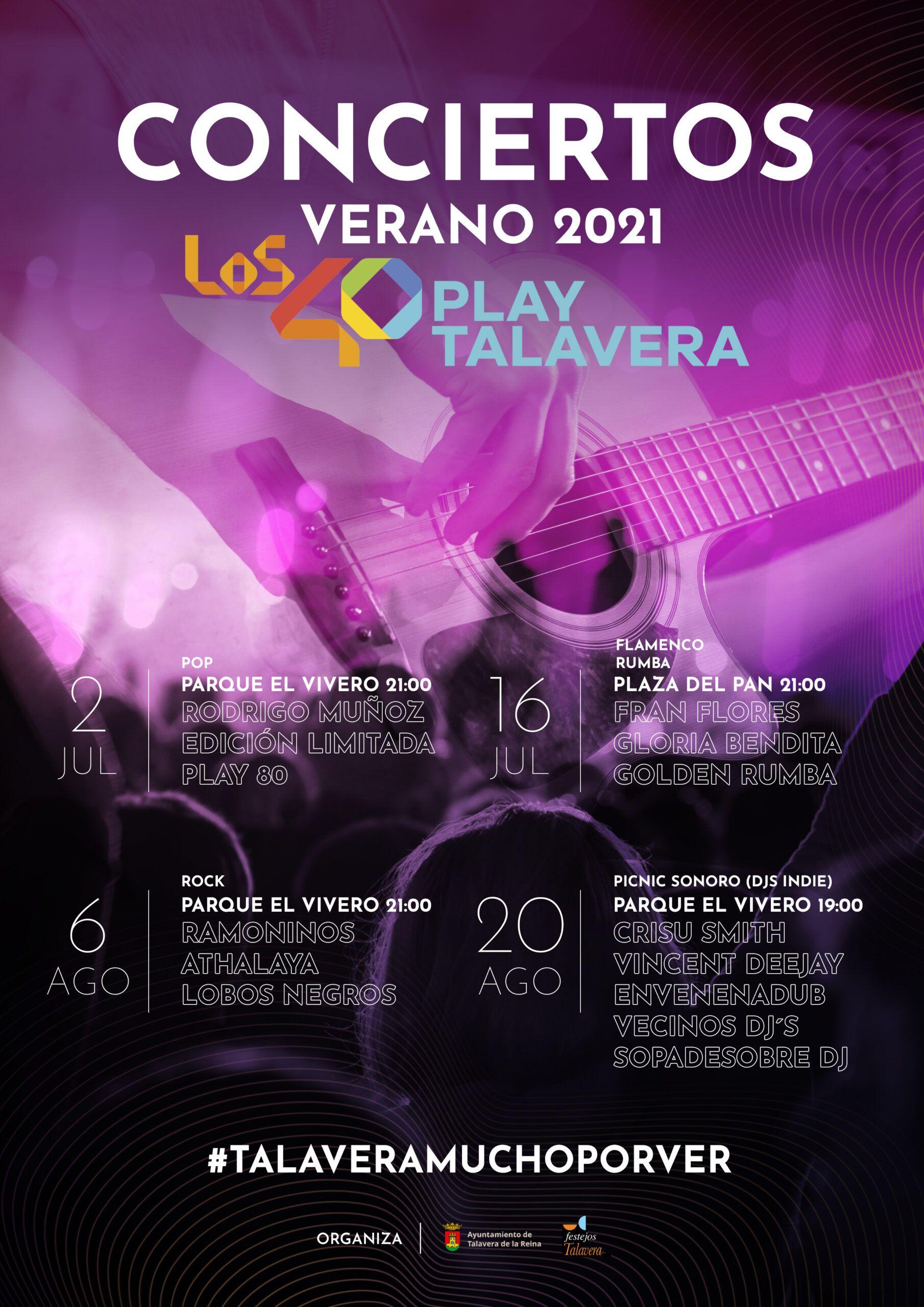 """Los conciertos de verano 2021 finalizan con un picnic sonoro """"en el que se continuarán cumpliendo todas las medidas sanitarias"""""""