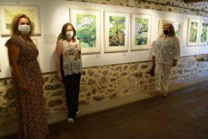 Santa María de Melque acoge una interesante y original exposición de xilografía de Gema Climent