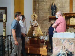 La Diputación de Cuenca finaliza los trabajos de restauración de la Virgen de la Estrella, patrona de El Herrumblar