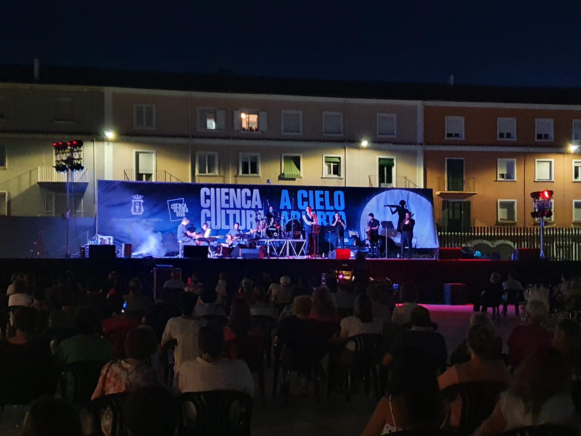 Cuenca Cultura a Cielo Abierto ofrece una actuación por día hasta el domingo 19 de septiembre