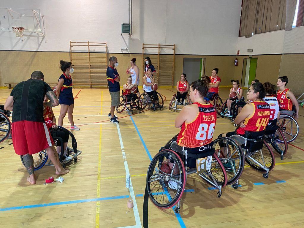 El Equipo Paralímpico Español se concentra en modo