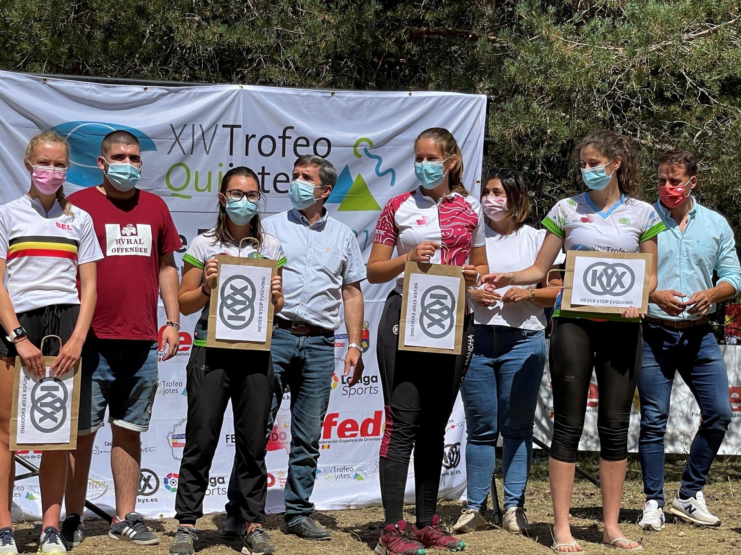El Gobierno regional muestra su apoyo al XIV Trofeo de orientación 'Quijotes' que llevará deporte y riqueza a la Serranía de Cuenca