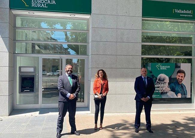 Eurocaja Rural abre su primera oficina en Valladolid, impulsando su Plan de Expansión y generando empleo en la zona