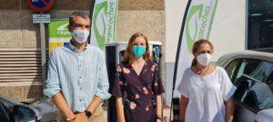 Talavera se convierte en una ciudad referente en movilidad sostenible tras la instalación del primer punto de recarga para coches eléctricos