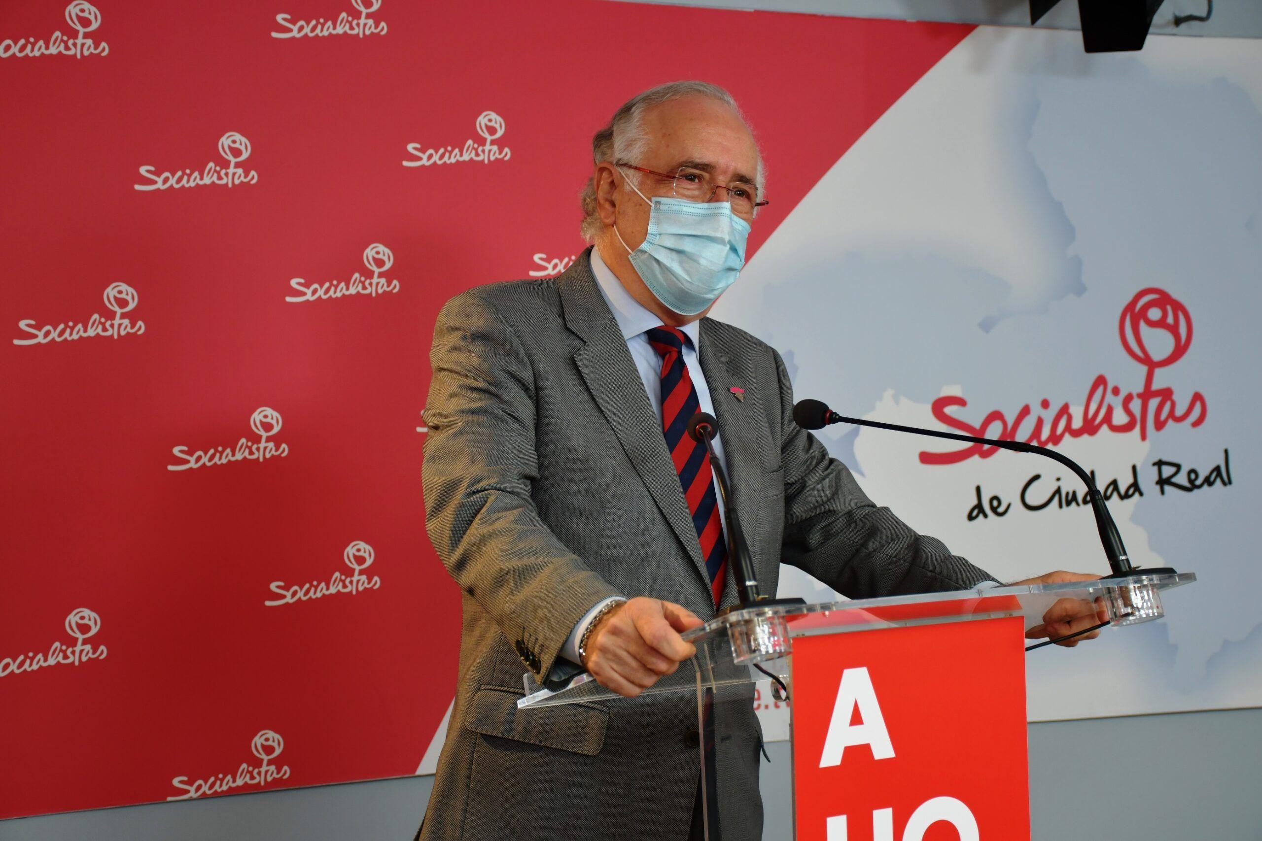 """Francisco Pérez: """"El trabajo y el esfuerzo de la JCCM, con Page al frente, se traduce como bien sabe el PP en inversiones en todos y cada uno de los pueblos de la provincia"""""""