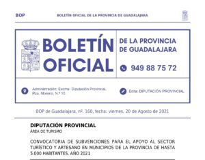 La Diputación destina 200.000 € a nuevas ayudas para hostelería, turismo y artesanía
