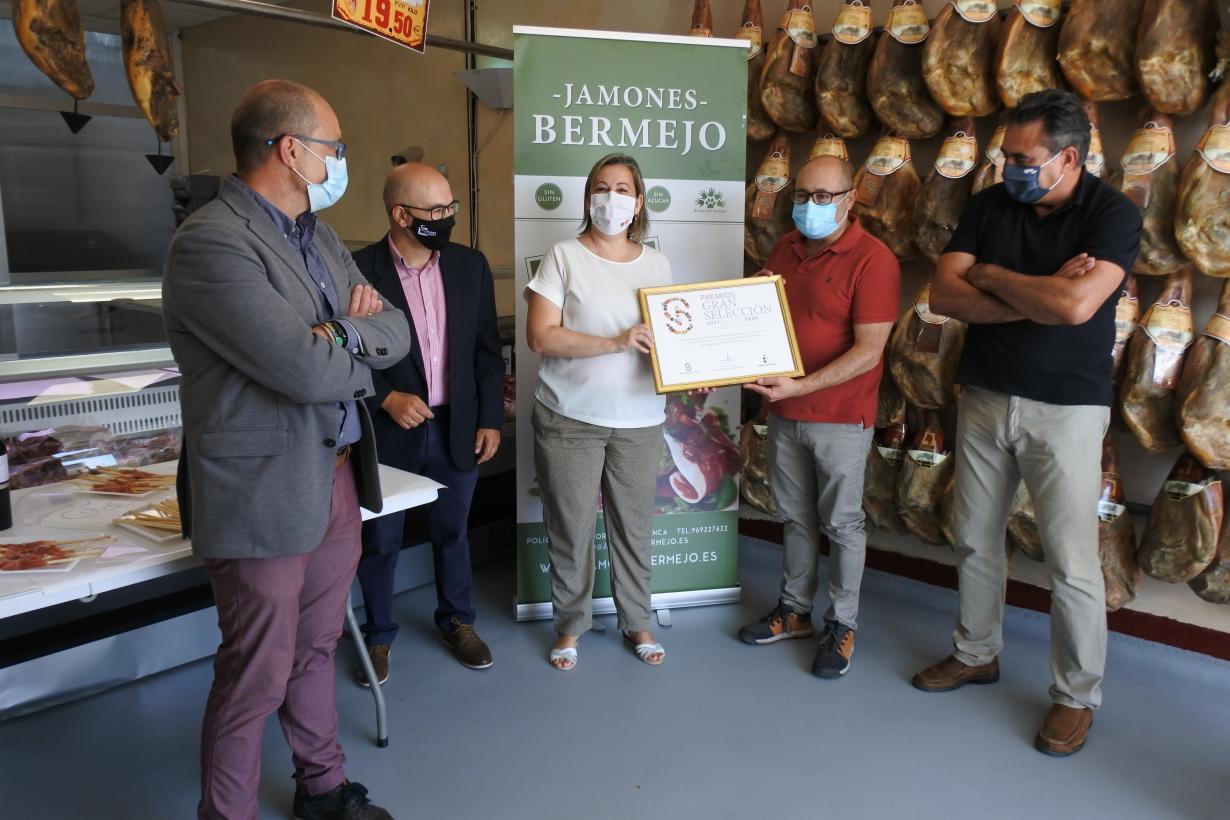 Castilla-La Mancha produce el 40 por cierto de las piezas de jamón serrano de toda España